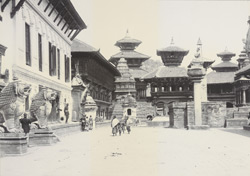 Space in front of Durbar, Bhatgaon [Bhaktapur]